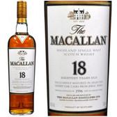 Macallan 1996 18 Year Old Single Malt 750ml