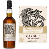 Cardhu Gold Reserve Game of Thrones House Targaryen Speyside Single Malt Scotch 750ml