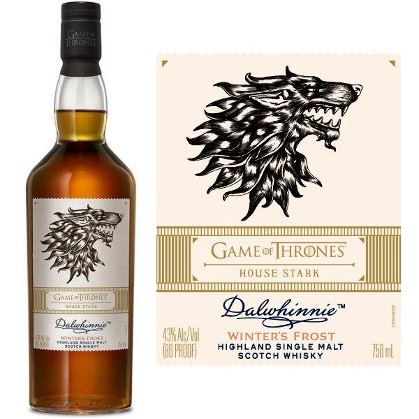 Dalwhinnie Game Of Thrones House Stark Highland Single Malt