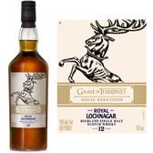 Royal Lochnagar Game of Thrones House Baratheon 12 Year Old Highland Single Malt Scotch 750ml