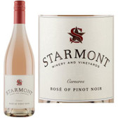 12 Bottle Case Starmont by Merryvale Carneros Rose of Pinot Noir 2017 w/ Free Shipping