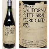 Ridge York Creek Spring Mountain Petite Sirah 1977