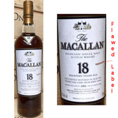 Macallan 1991 18 Year Old Highland Single Malt 750ml