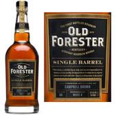 Old Forester Single Barrel Kentucky Straight Bourbon 750ml