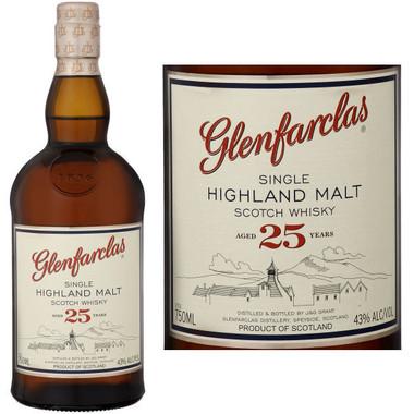 Glenfarclas 25 Year Old Highland 750ml