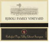 Riboli Family Vineyard Rutherford Cabernet