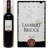 Lambert Bridge Sonoma Merlot