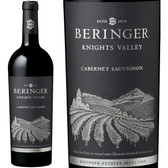 12 Bottle Case Beringer Knights Valley Cabernet 2016 Rated 90WA w/ Free Shipping