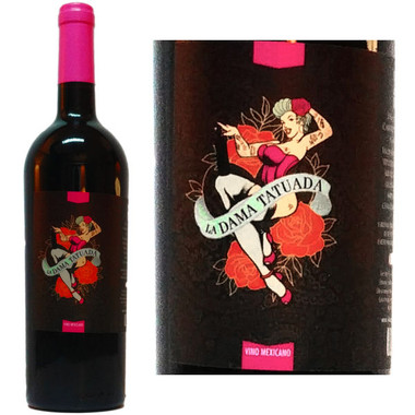 Valle Girl Vino of Baja Mexico La Dama Tatuada Cabernet Blend