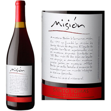 Santo Tomas Mision Valle de Guadalupe Mexico Tinto Red Blend