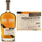 Oak & Eden Bourbon & Spire Toasted Oak Finish Bourbon 750ml