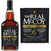 The Real McCoy 12 Year Old Barbados Rum 750ml