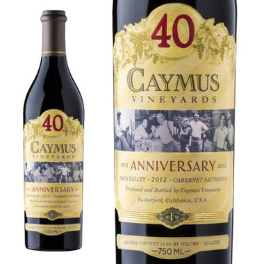 Caymus Vineyards 40th Anniversary Napa Cabernet