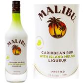 Malibu Melon Flavored Rum 750ml