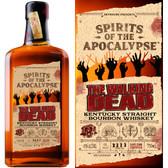 Spirits of the Apocalypse The Walking Dead Kentucky Straight Bourbon Whiskey 750ml
