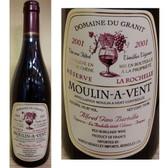 Domaine du Granit (Gino Bertolla) Reserve Moulin-a Vent La Rochelle Red Burgundy