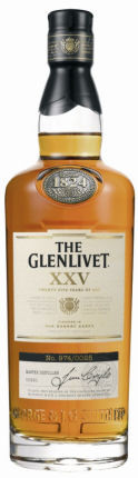 Glenlivet XXV Speyside Single Malt Scotch 750ml
