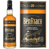 BenRiach 20 Year Old Speyside Single Malt Scotch 750ml