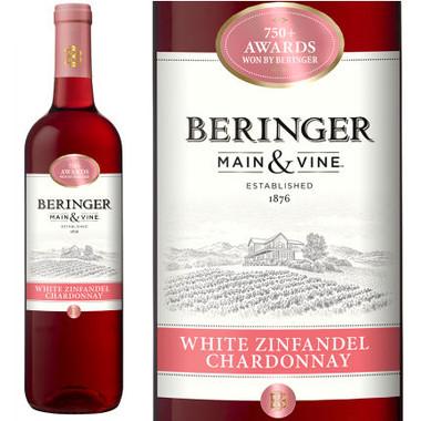 Beringer Main & Vine California White Zinfandel Chardonnay