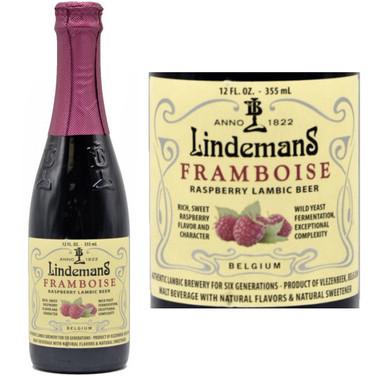 Lindemans Framboise Lambic (Belgium) 12oz