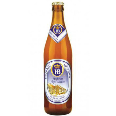 Hofbrau Munchen Hefe Weizen 16.9oz (Germany)