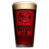 Stone Brewing Co.Arrogant Bastard Red Pint Glass