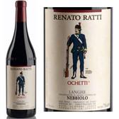Renato Ratti Nebbiolo Langhe Ochetti DOC 2016 (Italy) Rated 91WS
