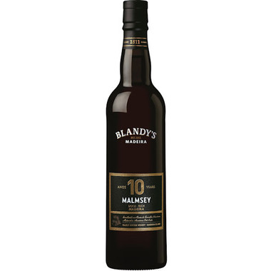 Blandy's 10 Year Old Malmsey Madeira 500ml