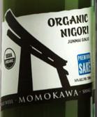 Momokawa Organic Nigori Junmai Ginjo Sake 375ML