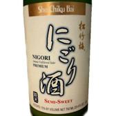 Sho Chiku Bai Premium Semi-Sweet Nigori Junmai Unfiltered Sake