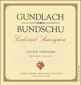 Gundlach Bundschu Sonoma Cabernet 2014 Rated 90WE