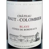 Chateau Haut-Colombier Blaye Cotes de Bordeaux