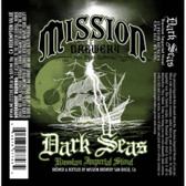 Mission Brewery Dark Seas Russian Imperial Stout 22oz