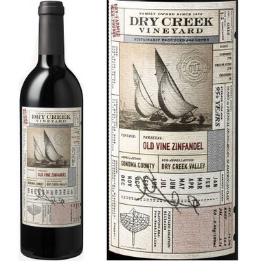 Dry Creek Vineyard Sonoma Old Vines Zinfandel