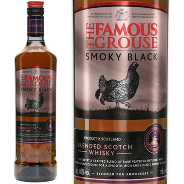 The Famous Grouse Smoky Black Blended Scotch Whisky 750ml