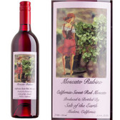 Salt of the Earth Moscato Rubino California Sweet Red Moscato