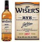 J.P. Wiser's Rye Blended Canadian Whisky 750ml