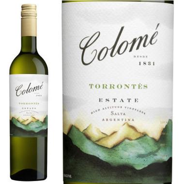 Bodega Colome High Altitude Vineyards Salta Torrontes