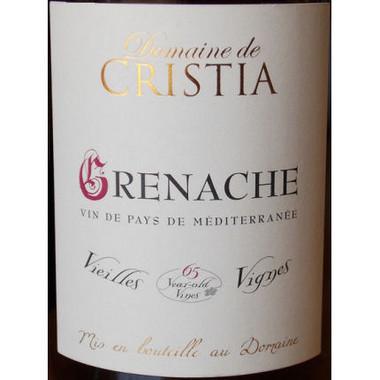 Domaine de Cristia Vin de Pays de Mediterranee Grenache Vieilles Vignes