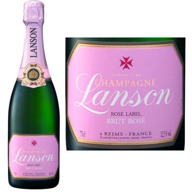 Lanson Brut Rose Champagne NV