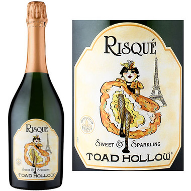 Toad Hollow Risque Methode Ancestrale Sparkling Wine NV