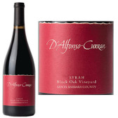 D'Alfonso-Curran Black Oak Vineyard Santa Barbara Syrah 2009