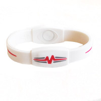 "Mojo-Advantage Band 8""  White with Pink"