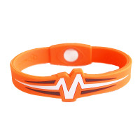 "Mojo-Raptor Band 8""  Orange with White & Brown"