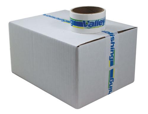 Custom Printed Packing Tape Roll on Box