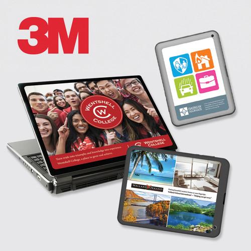 3M Custom Printed Laptop and Handheld Device Skins