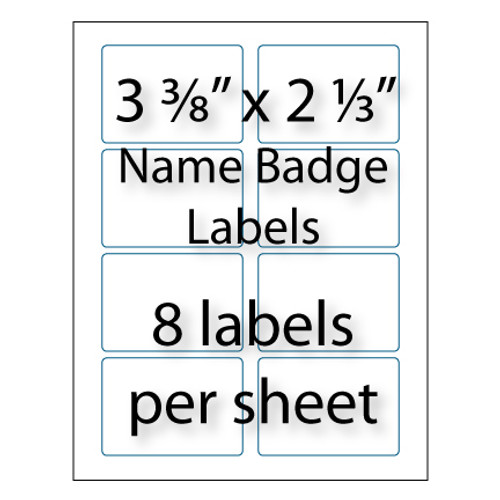 Wholesale custom blank labels avery compatible for 8 up label template