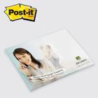 "4"" X 3"" Full Color Custom Printed Post-it Notes 250 Pads of 25 Sheets"