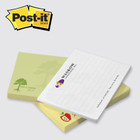 "4"" X 3"" Full Color Custom Post-it Notes 500 Pads of 50 Sheets"