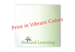 Our Custom Post-it Notes print in vibrant full color. Any colors you want.